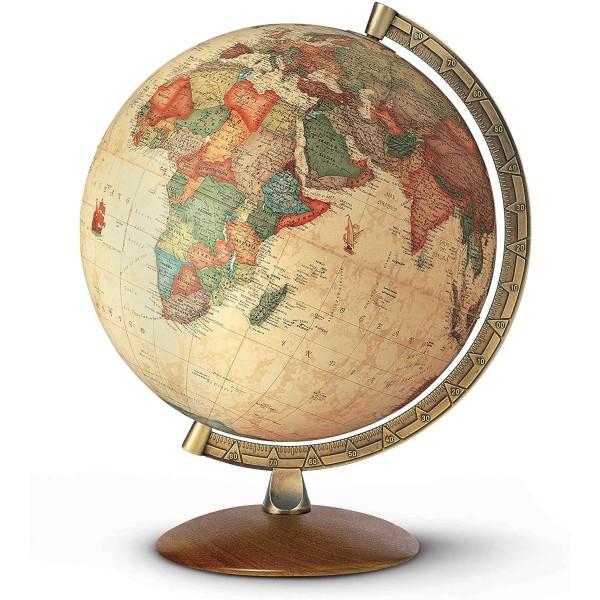 Antiquus Masaüstü Işıklı Küre