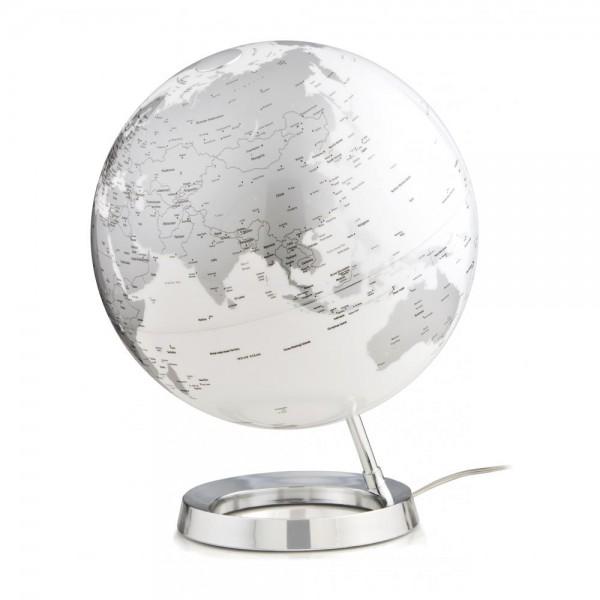 L&C Chrome Işıklı Masaüstü Küre