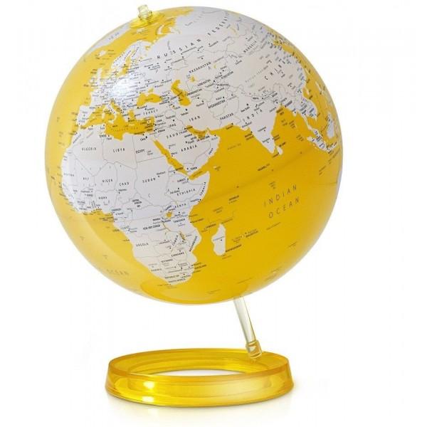 L&C Bright Yellow Işıklı Masaüstü Küre